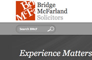 Web Design - Bridge McFarland Solicitors